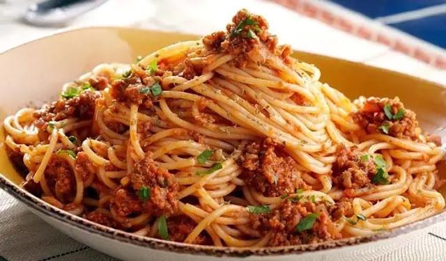 Beef and spaghetti stew