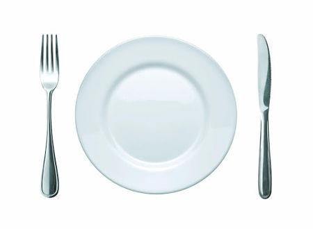 Molde para confecionar os menus da dieta da zona
