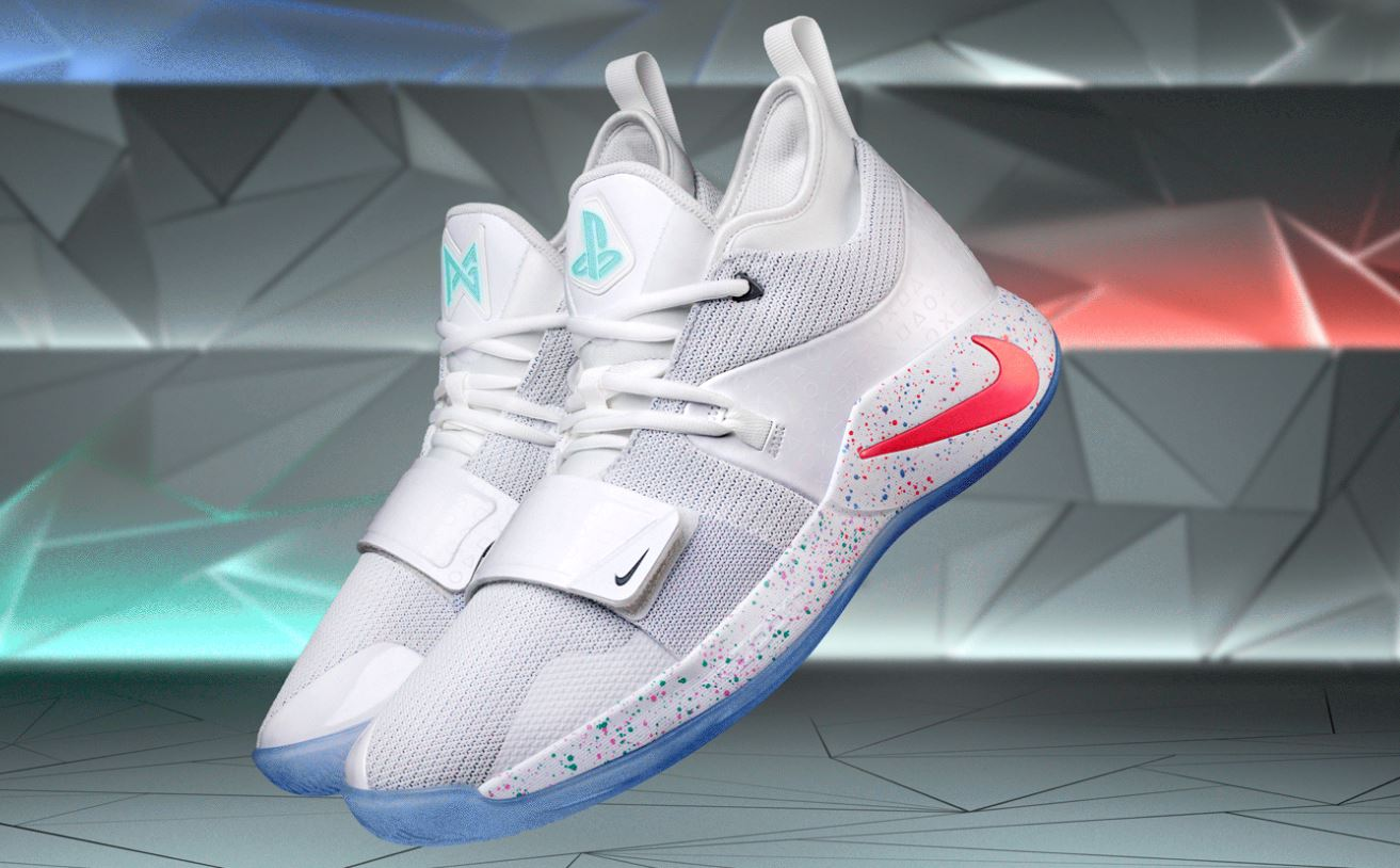 super popular 16eaf 5403f THE SNEAKER ADDICT: Playstation x Nike PG 2.5 'White Sneaker ...