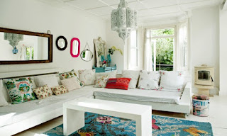 tips interior decor home with mirror ornamental