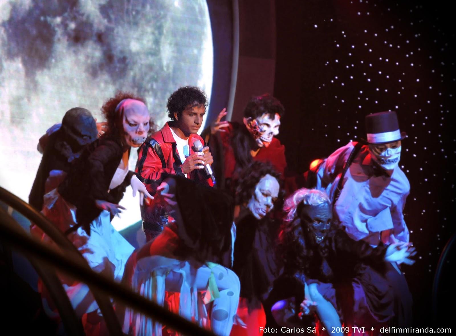 Delfim Miranda - Michael Jackson Tribute - Back to the 80's with Thriller - TV performance - TVI / Endemol