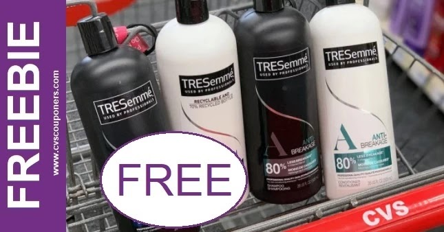 FREE Tresemme Shampoo CVS Deal 7-11-7-17