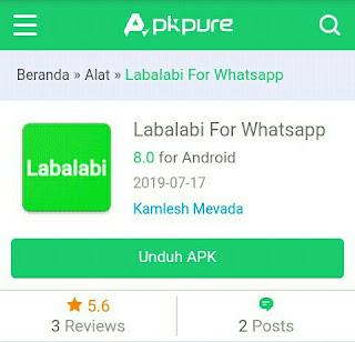 Cara Bom Chat Whatsapp Terbaru Menggunakan Aplikasi Labalabi
