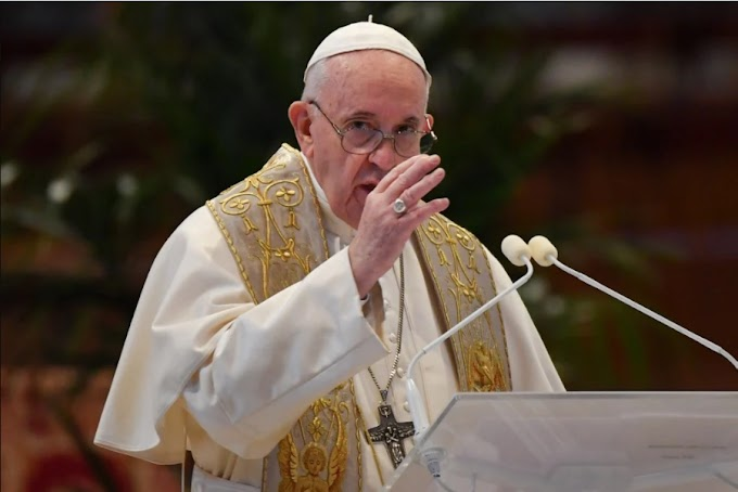 Pope hopes Olympic Games 'sign of hope' in pandemic