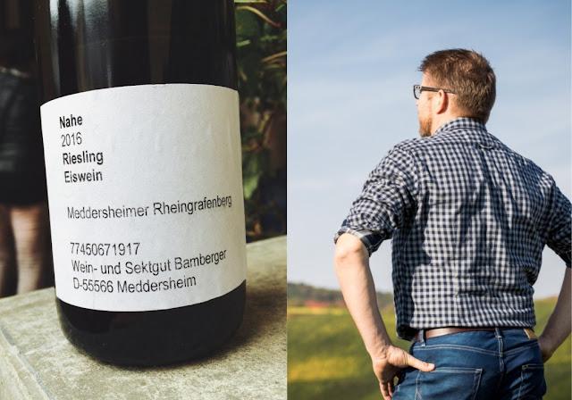 Eiswein vom Wein- und Sektgut Bamberger an der Nahe