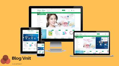 Mẫu website bán hàng thương mại điện tử , hiện nay mẫu này được khá nhiều bạn ưa sử dụng trong kinh doanh online để bán đa mặt hàng khác nhau , giao diện web chuẩn responsive trên mọi thiết bị , tính năng chuyên nghiệp nổi bật với giỏ hàng và đặt hàng trực tuyến siêu tiên lợi.
