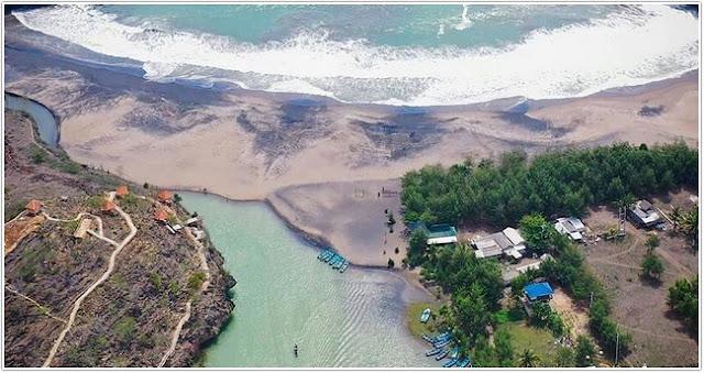 Pantai Ngiroboyo;Top Destinasi Wisata Pacitan;