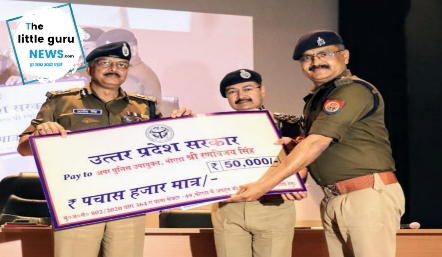यूपी में वैज्ञानिक के अपहरण कांड में सफलता हासिल करने वाले चंपारण के लाल एडीसीपी नोएडा रणविजय सिंह समेत 20 पुलिसकर्मियों को किया गया सम्मानित