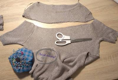 Adzik tworzy - DIY sukienka z odkrytymi ramionami