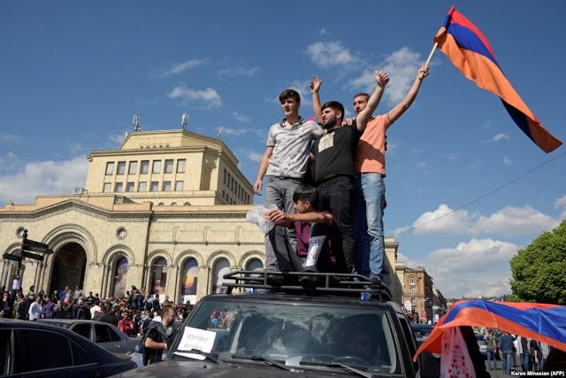 Protestas en Armenia no son una conspiración contra Rusia