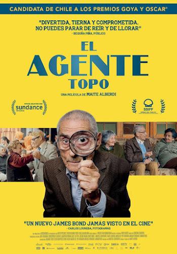 El agente topo (Screener 720p Español Latino) (2020)