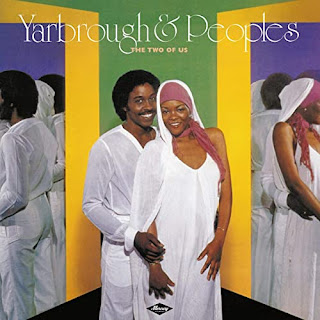 Record cover - Yarbrough and Peoples in a mirrored background