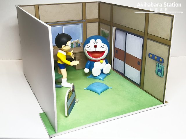 Figuras: Review de los Figuarts Zero de Nobita, Doraemon y Habitación Nobita - Tamashii Nations
