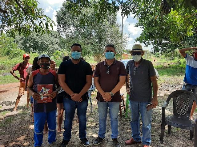 SANTA RITA: Vereador Dayvison Juan cumpre agenda ao lado do secretário de estado do trabalho e economia solidária Jowberth