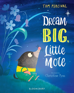Dream Big, Little Mole by Tom Percival, illustrated by Christine Pym, book cover