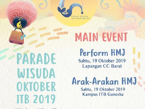 Parade Wisuda Oktober 2019