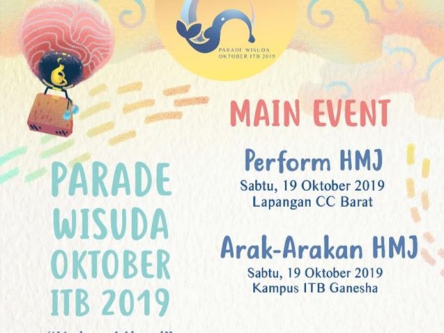 Inilah Rangkaian Acara Parade Wisuda Oktober ITB 2019