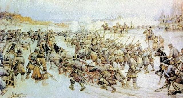 Bolotnikov's Battle with the Tsar's Army at Nizhniye Kotly