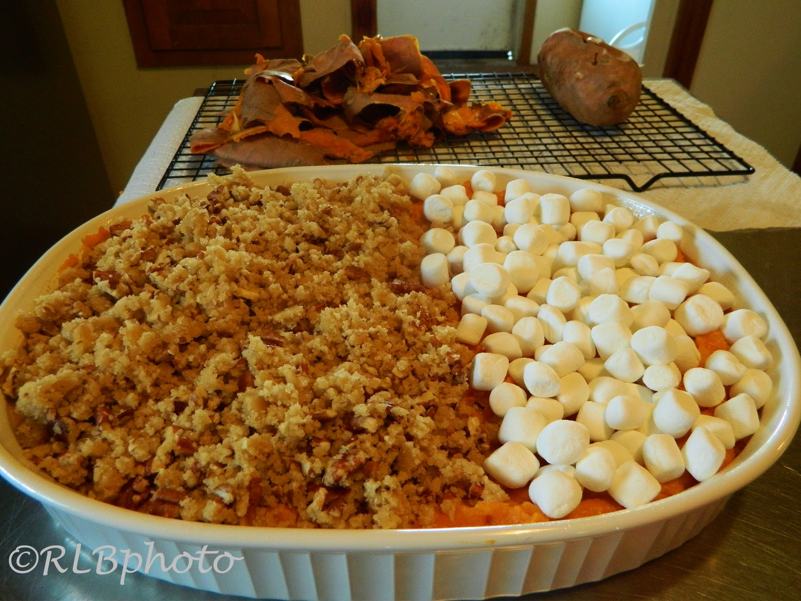The Curious Country Cook: : Sweet Potato Casserole for ...
