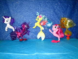First Sea Ponies Brushables Appear on eBay