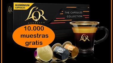Muestras gratis de cápsulas L'Or para Nespresso