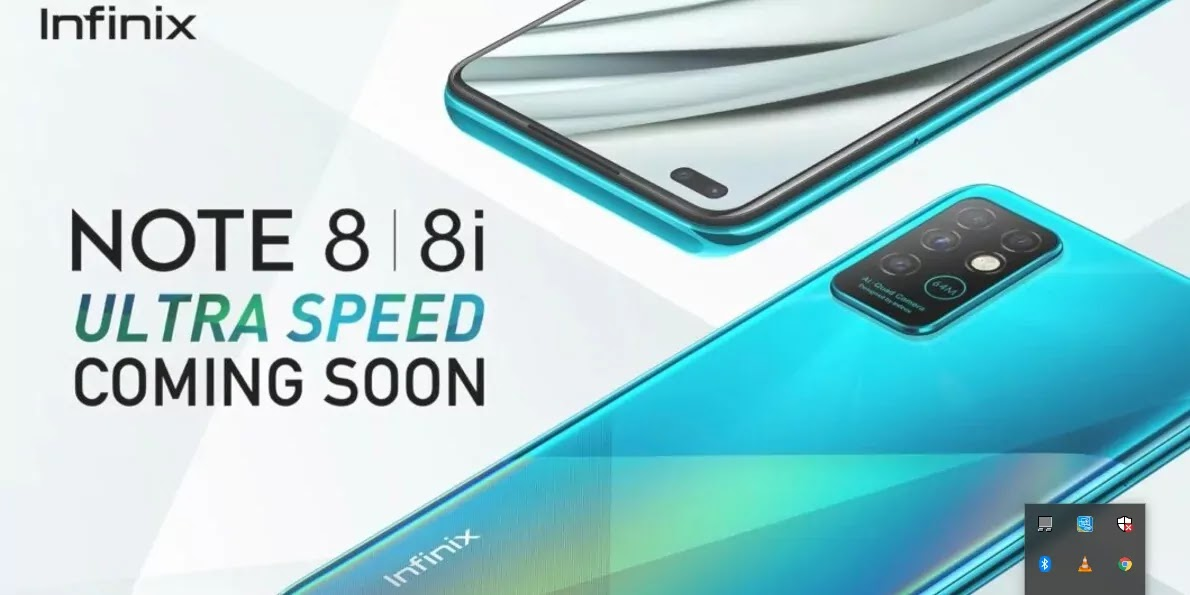 Infinix Note 8, Note 8i With Quad Rear Cameras, MediaTek Helio G80 SoC Launched