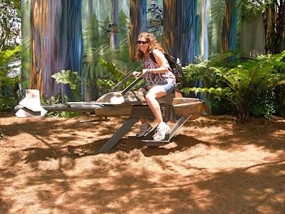 Star Wars Speeder Bike Photo Orlando Florida