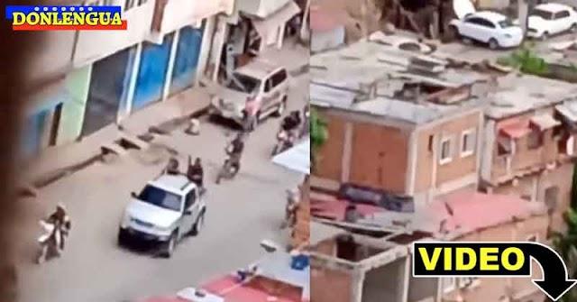 Batalla campal entre delincuentes en La Vega