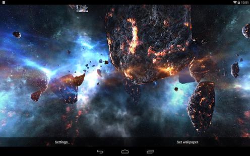 Asteroids 3d Live Wallpaper For Pc Asteroids Pack 1 1 Apk Apkradar