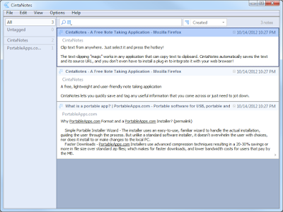 Screenshot CintaNotes PRO 3.11 Portable