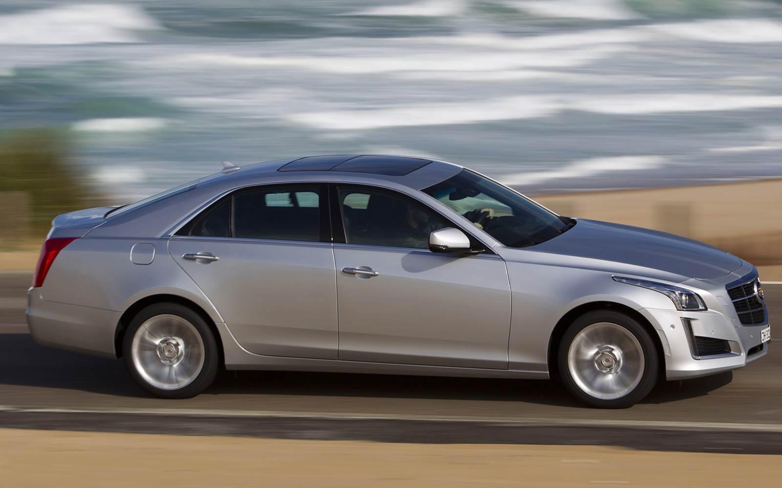 Cadillac CTS eleito como o segundo pior sedã de luxo europeu