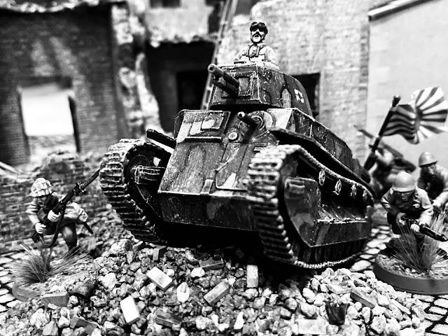 Type 89B Medium Tank I-Go Shanghai 1937