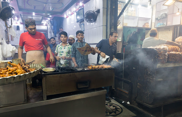 Food in Old Delhi Ramzan
