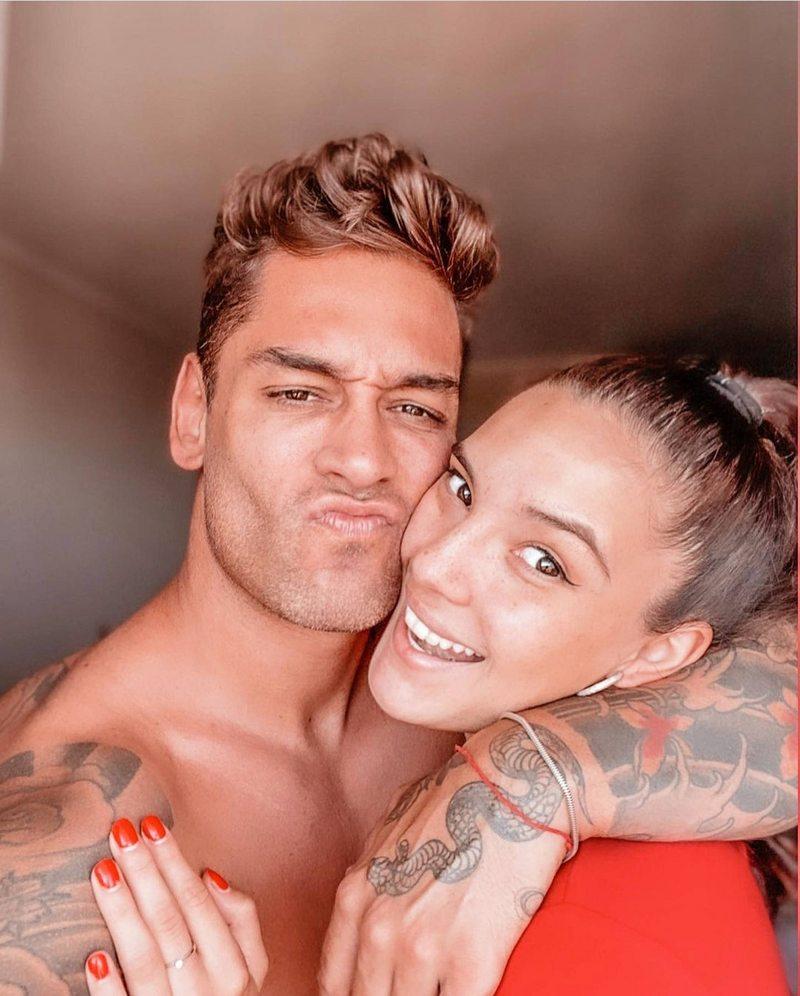 Thiago Cunha y su amor con Chantal Gayoso