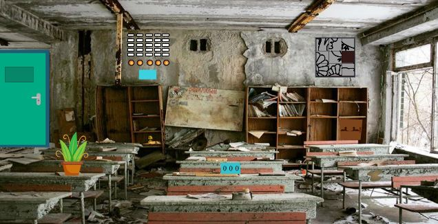 Play Geniefungames Abandoned Classroom Escape