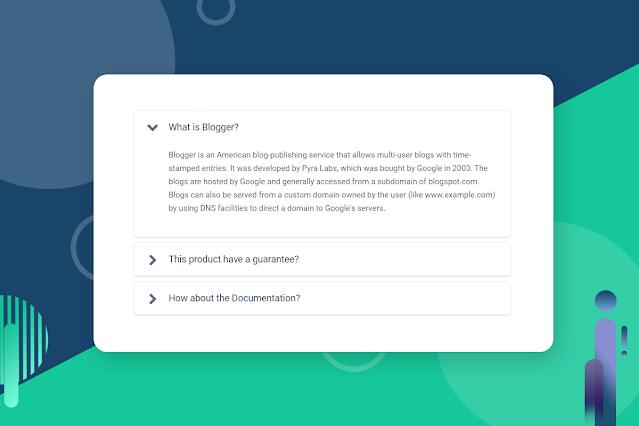 Widget Accordion Untuk Halaman Postingan dengan jQuery