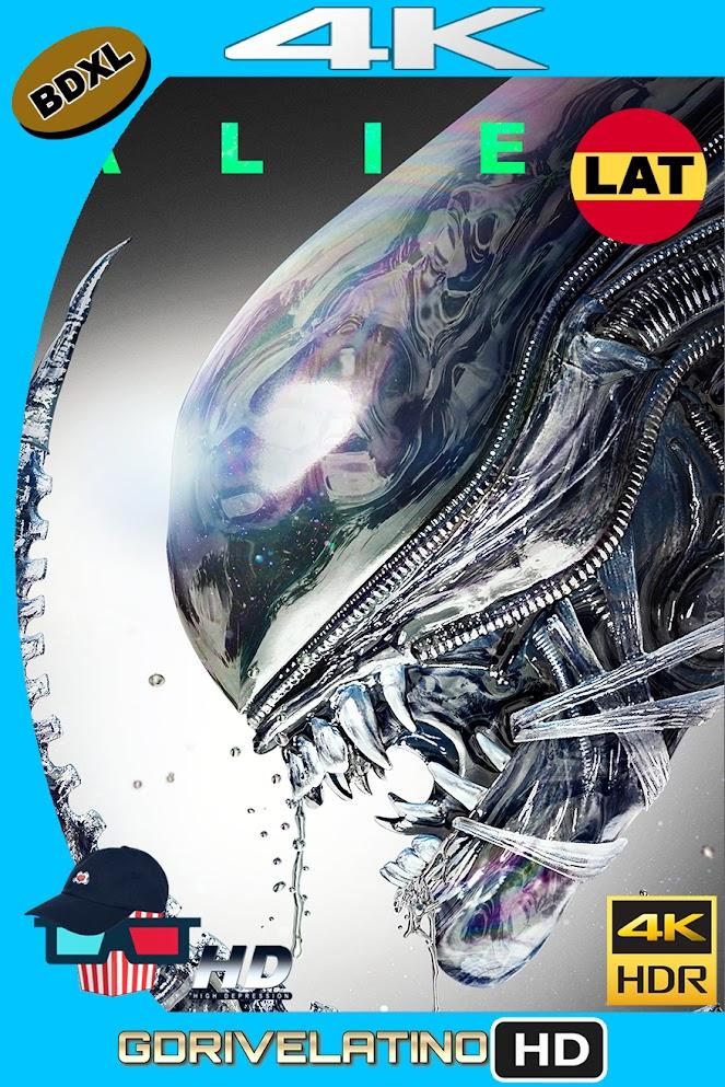 Alien : El Octavo Pasajero (1979) BDXL 4K UHD HDR (Theatrical+Directors Cut) Latino-Ingles ISO