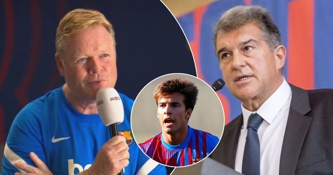 Koeman: Thanks to me, Barcelona has a future
