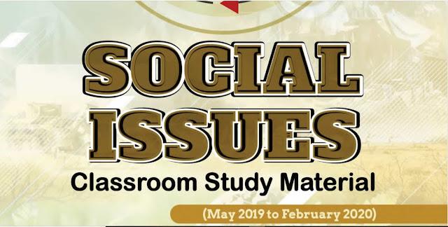Vision IAS PT 365 Social Issue 2020 pdf