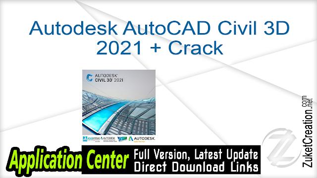 Autodesk AutoCAD Civil 3D 2021 + Crack