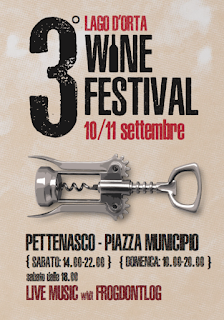 Lago d'Orta Wine festival 10-11 settembre Orta San Giulio (NO)  2016