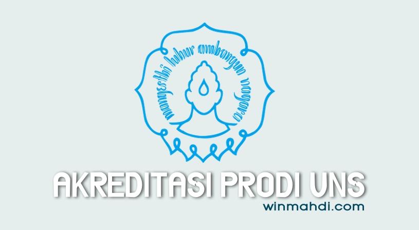 Akreditasi Program Studi UNS