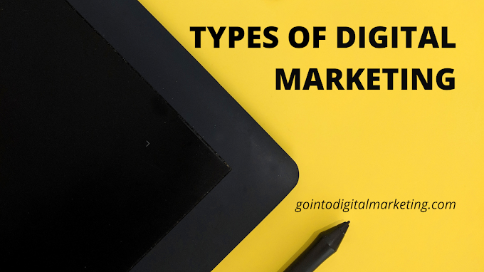 what are the types of Digital Marketing?