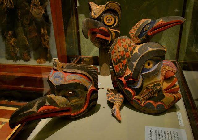 Американський музей природознавства, Маски індіанців Північної Америки (American Museum of Natural History)