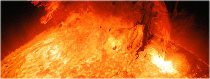 explosão solar agosto 2019