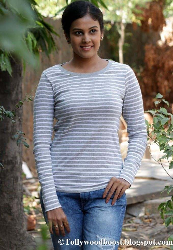 Telugu Actress Chandini At New Movie Press Meet Photos