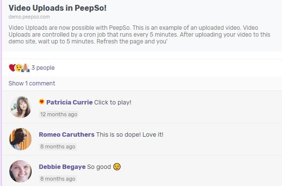 Peepso-User-Plugin