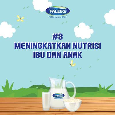 nutrisi ibu anak Khasiat susu kambing untuk ibu mengandung
