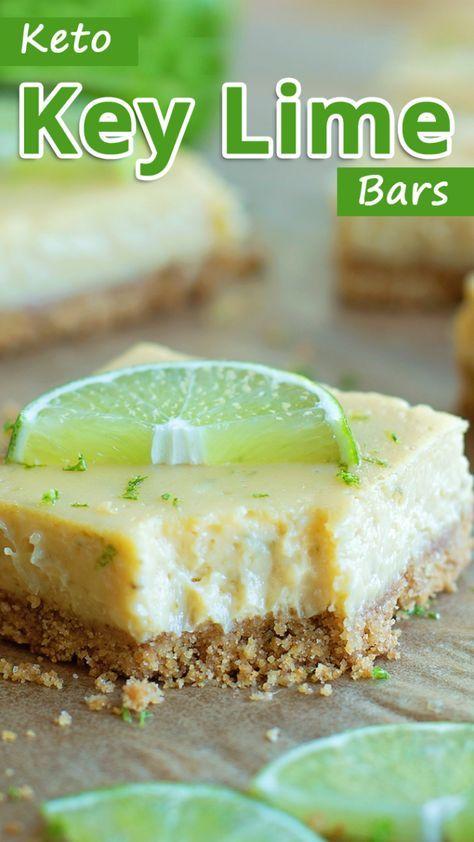 Amazing Keto Key Lime Bars