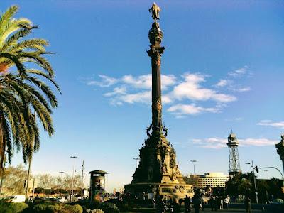 www.viajaportodoelmundo.com   Vacaciones en Barcelona Monumento a Colón